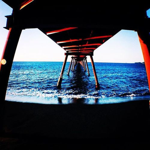 Inmensidad. Piggyscamp Photographer Ocean Sea Blue Bridge GF Landscape Viii VSCO Vscogood Vscocam Eyefish