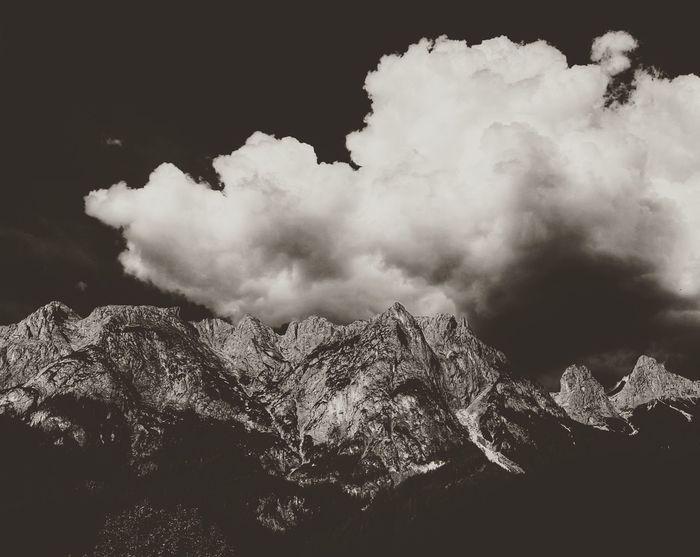 Mountains Landscape Sky Nature Scenics Roadtrip Austria Austrianalps Low Angle View Outdoors Cloud - Sky