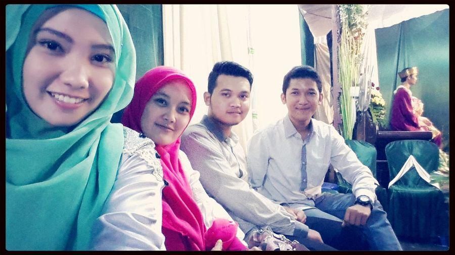 Wedding for cindi.. friend high school in jombang