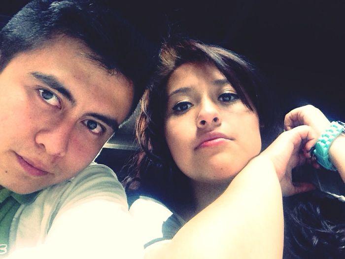 Nuestra seriedad nadie se la cree jejejeje Paulina & Atzael ❤️ Te Amo ❤