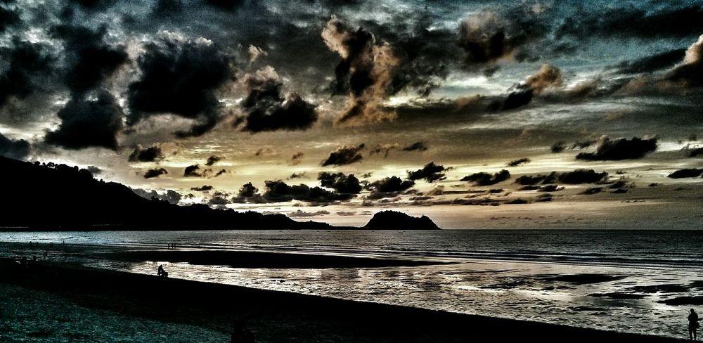 Nature Photography Sunset First Eyeem Photo Playa De Zarautz