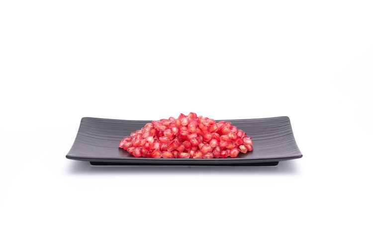 Attractive fruit in color, pomegranates Anticancer Barren Cold Temperature Delicious Drought Resistant Food Fruit Heart Insect Repellent Mature Adult Medicinal Plant Micronutrients Nutrition Pomegranate Pomegranate Seeds Red Red Heart Rich Seeds Supplements Sweet Food