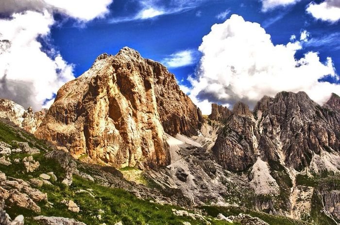 Dolomites, Italy Rosengarten