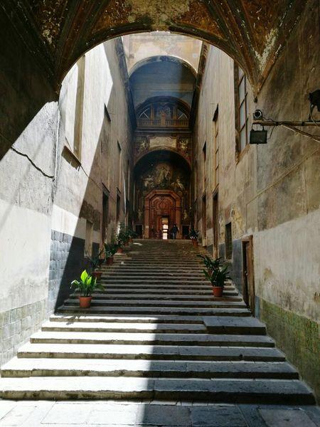 Arch Architecture City Day Italy🇮🇹 Travel No People Naples Citytrip Culture San Gregorio Armeno