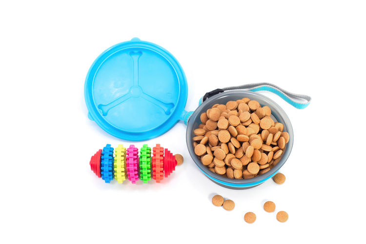 Agriculture Animal Background Bowl Brown Canine Care Cat Circle Closeup Color Control Cookie Delicious Diet Dish Dog Dry Eat Empty Feed  Food Fresh Full Good Green Healthy Image Ingredient Leashes Meal Metal Natural Nature Nutrition Objects Organic Pet Pile Plate Puppy Raw Seed Shape Small Snack Top Toys Treat View