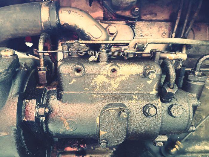 Vintage Technology Vintage Vintage Engine Old Engine Old Engineering Engineering Rust Rusty Pump Oil Pump Dirty Tractor Metal Close-up Rusty Motorcycle Land Vehicle Vintage Car