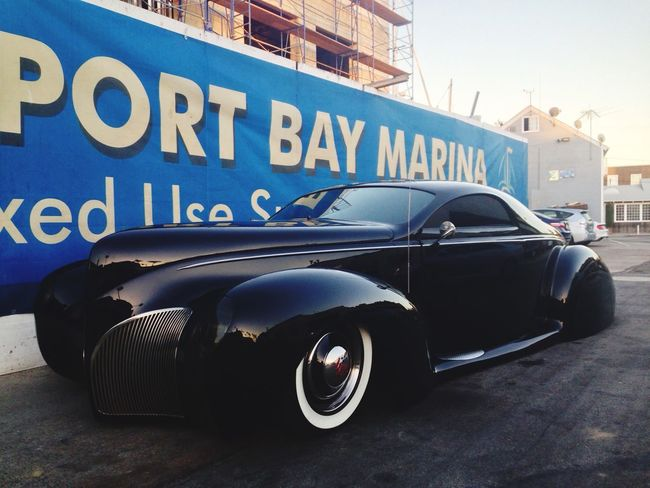 Old Car Lincoln 1932 Newport Beach CARIFORNIA USA Traveling