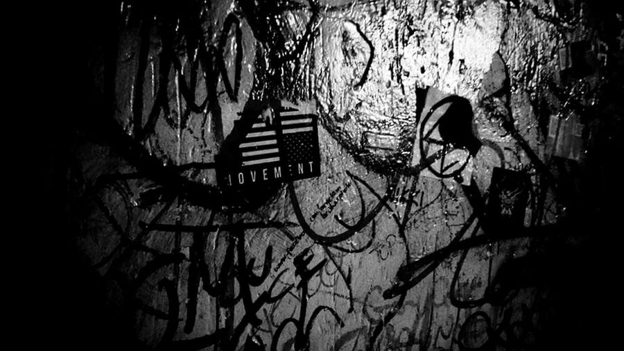 Actions Behind the Words - Movement Music Venue Montclair NJ Movement Make It Count Music Scene Band Statement Street Art Graffiti Spray Paint Building Art Aerosol Can Stairway Mural