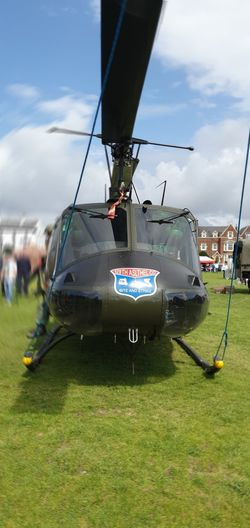 Front of Huey