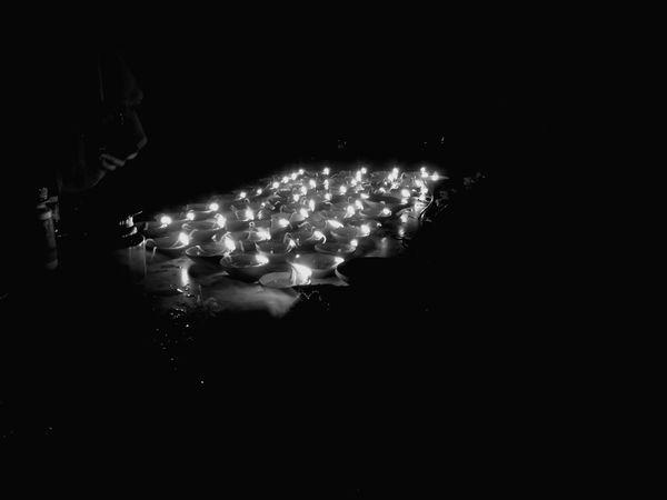Black And White Friday lighting festival Illuminated
