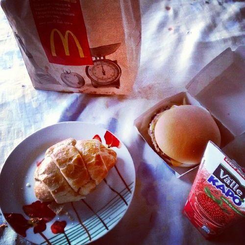 Hmmmm... Bom dia, gordice !!! Almadegordo Bomdia MC Instalink croissant