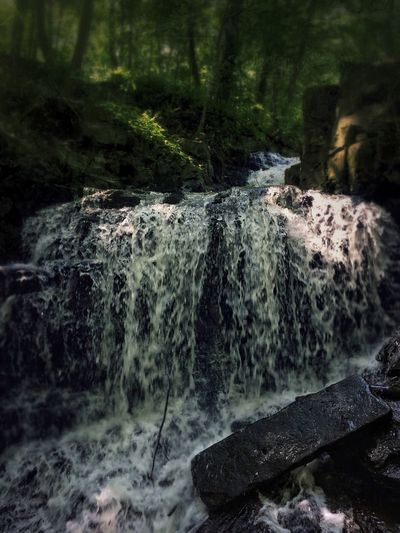 Down in the Hollow Tadaa Community Waterfall Rock - Object Nature Rock Formation No People Water Beauty In Nature Tranquility Forest Snapseed Nature Photography Connecticut Scenics Tranquil Scene Outdoors Motion Day Landscape Travel Destinations