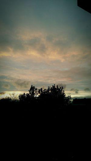 Beautiful evening sky @ dordrecht, the Netherlands....