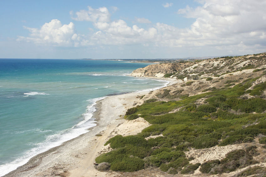 South coast of Cyprus Beach Beauty In Nature Coast Coastline Countryside Cyprus Landscape Mediterranean  Mediterranean Sea Nature No People Outdoors Panorama Scenery Scenics Sea Sea View Seaside Shore Shoreline Summer Tourism Travel Travel Destinations Water