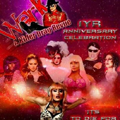 Time flies when your having fun doing what you love. This Sunday is the 1yr Anniversary of my weekly show @werk_akillerdragrevue at Hamburger Marys Long Beach! I'm so blessed<3 see you Sunday Showtime 8:30 No Cover