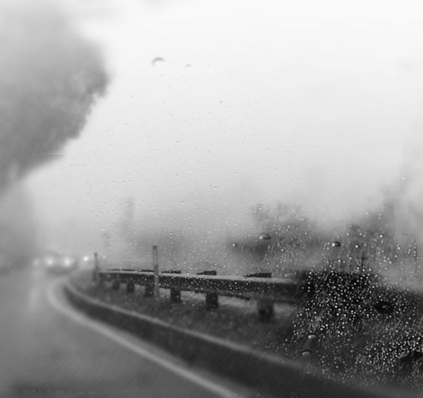 I'll Be There... It's Cold Outside On The Road Black&white Monochrome Foggy Road I love Rain In The Mood Black And White Collection  My Winter Favorites Vanishing Point Showcase: January Eyem Best Shots Driving Home Getting Inspired Black And White