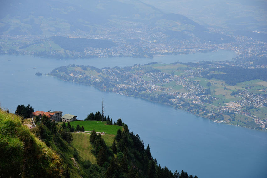 Travel Water Travel Destinations Nature Tree Sky Rigi The 👑 Queen Of Mountains Rigi Mountain Rigikulm Swiss Mountains Swiss No People Scenics Outdoors Vacations Beauty In Nature Mountain Day
