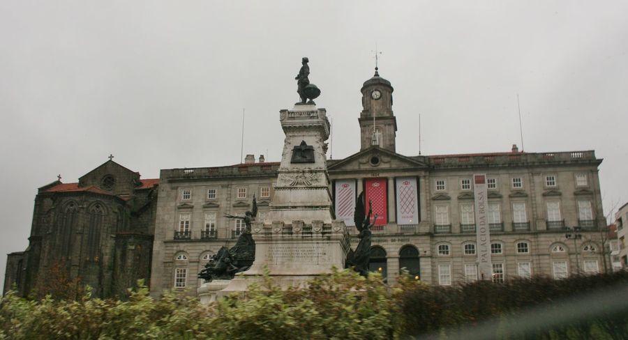 Architecture Building City City Centre Porto Portugal Street Turism