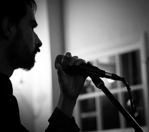 Live Music Livemusicphotography Gigphotography Openplanpanicroom Blackandwhite Photography Beardy Microphone The Fountain Chichester