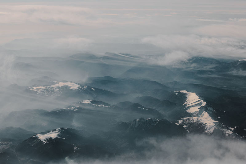 A photo taken from a flight from the UK to Spain. I took these photo's just after waking up and in my daze captured a scene from a dream. Cloud Dream Isolated Nature The Great Outdoors - 2018 EyeEm Awards Beauty In Nature Eerie Moody Moodygrams Mountain Mountains Mountainscape Nature Naturelovers Natureromantix No People Outdoors Scenics - Nature Snow Snowcapped Mountain Tranquility My Best Photo Stay Out The Great Outdoors - 2019 EyeEm Awards