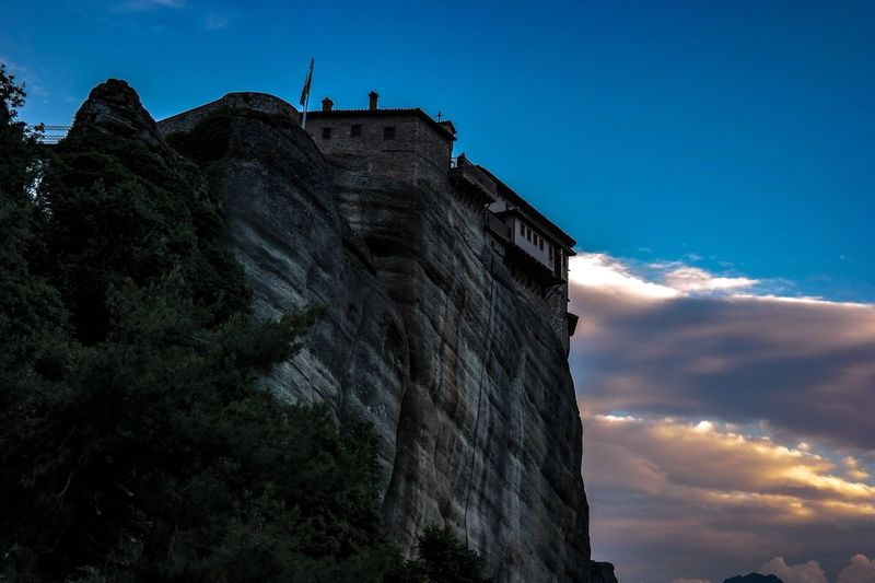 Adventure Cloud - Sky Built Structure Building Exterior Outdoors Sky Day View Blue Colors Magic Afternoon Summer Meteora Greece Meteora Monasteries Photographyislifee Photography Moment  PhotographyIsMyPassion Streetphotography Photoeverywhere Photooftheweek Photoeveryday Rocks Photooftheday Live For The Story Place Of Heart EyeEmNewHere Place Of Heart The Street Photographer - 2017 EyeEm Awards The Great Outdoors - 2017 EyeEm Awards The Architect - 2017 EyeEm Awards The Architect - 2017 EyeEm Awards Your Ticket To Europe