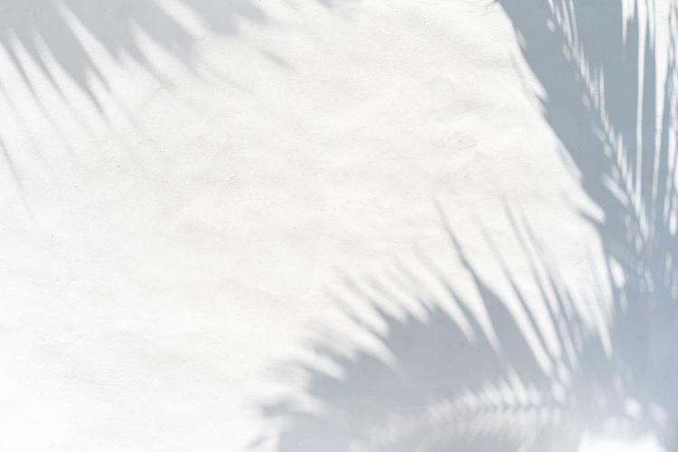 High angle view of snow on metal