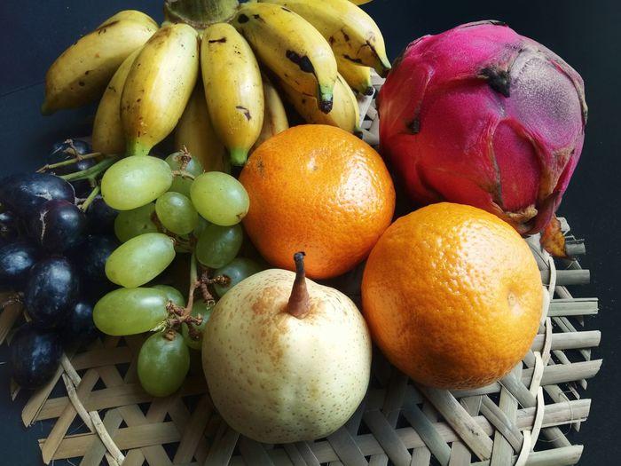 nature's candy Banana Fruit Buahbuahan Buahnaga Dragonfruit Fruit Citrus Fruit Close-up Food And Drink Grapefruit Blood Orange Orange - Fruit Grape Juicy Vitamin C Tropical Fruit Tangerine Red Grape