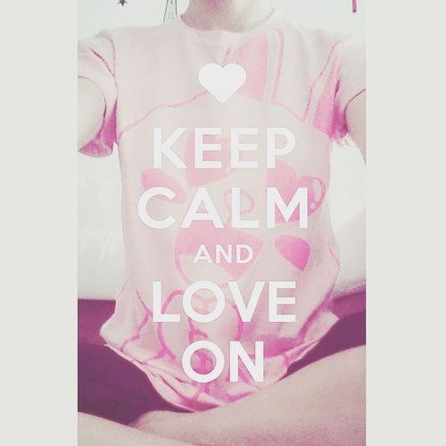 LINE~~~🐰🐰🐰 LINE Cony PIX2 .F01 Keep_calm_and_love_on