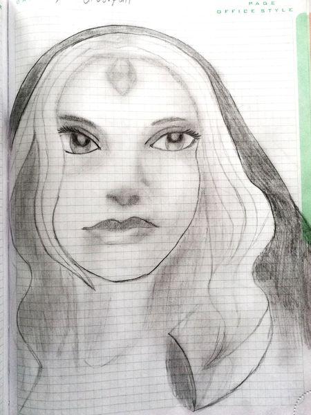 Dota 2 Pencil Crystal Maiden Rylai Crestfall My Work