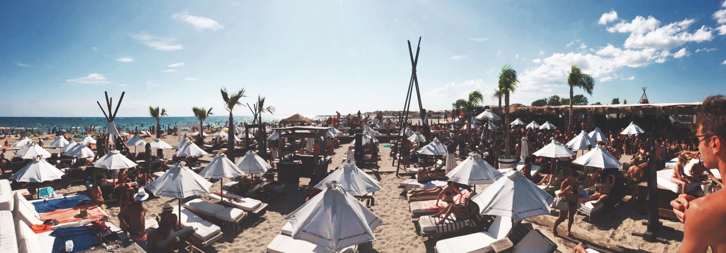 Chill sunday! Summer Chilling Capdagde Beach