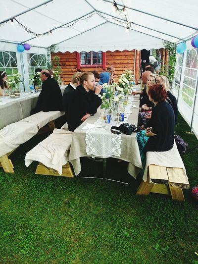 mottagningen efter bröllopet. Wedding Reception Bröllop Mottagning Filipstad