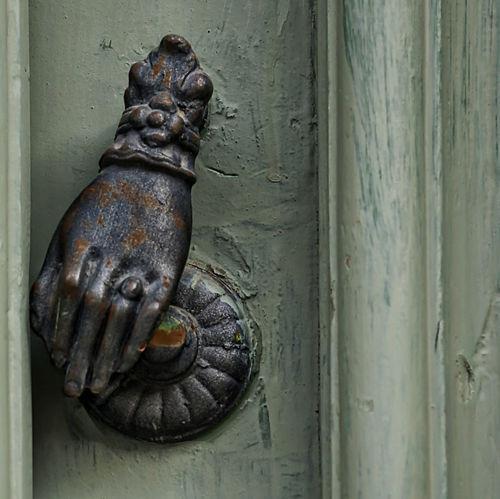 Door Handle, Antique Handle, Animal Themes Close-up Day Door Door Knocker Lion - Feline Metal No People Outdoors Sculpture