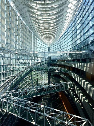 structure Tokyo International Forum Architecture Yurakucho Tokyo