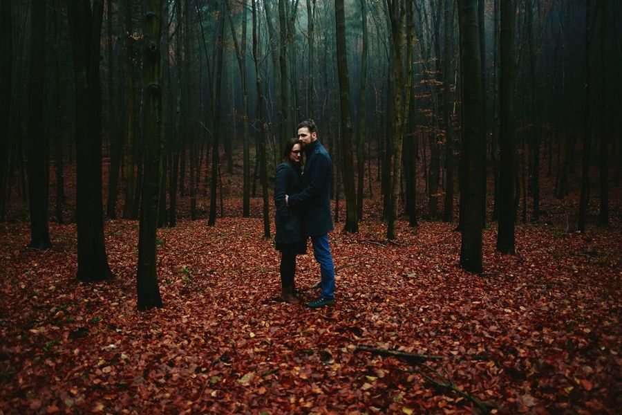 SERIES: 8 years: Nature Forest Tree Portrait Moody Misty Lifestyle Couple Couplephotography Selfie ✌