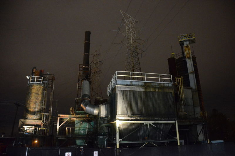 Industry Factory Built Structure Night Building Exterior Architecture No People Illuminated Metal Smoke Stack Nature Fuel And Power Generation Sky Outdoors Industrial Building  Technology Storage Tank Business Machinery Clear Sky Brewery My Best Photo