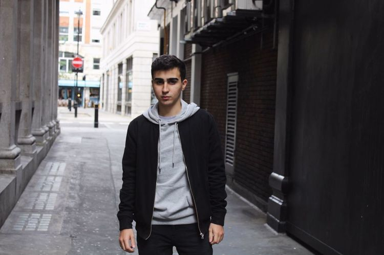 Urbn URBN StreetStyle Portrait Looking At Camera One Man Only Only Men Adults Only Young Adult Standing One Young Man Only One Person Front View Young Men Confidence  Adult Business People Expertise Men Built Structure Outdoors Businessman