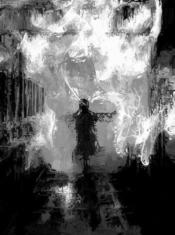 Various Energy Sources Natural Condition Fire - Natural Phenomenon Smoke - Physical Structure Houston Homma Bulla A Un De Ces 4 bon week end Pareidolia Noir Et Blanc