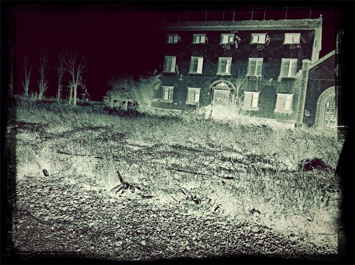 Abandoned Buildings Old Building  Blanco Y Negro Edificios Misteriosos