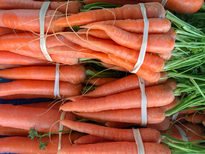 Farmers Market Fresh Produce Nature Carrot Close-up Day Food Food And Drink For Sale Freshness Healthy Eating Large Group Of Objects Market Market Stall No People Orange Color Organic Raw Food Retail  Root Vegetable Sale Still Life Vegetable Wellbeing