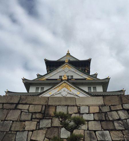 天守閣 大阪城 日本 OSAKA