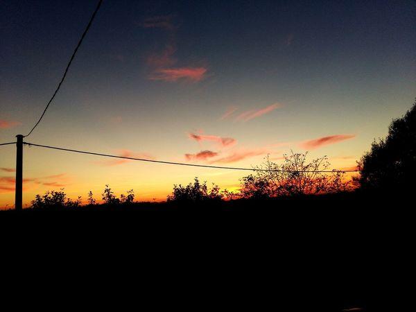 End Of Summer Sunset Slavonski Brod