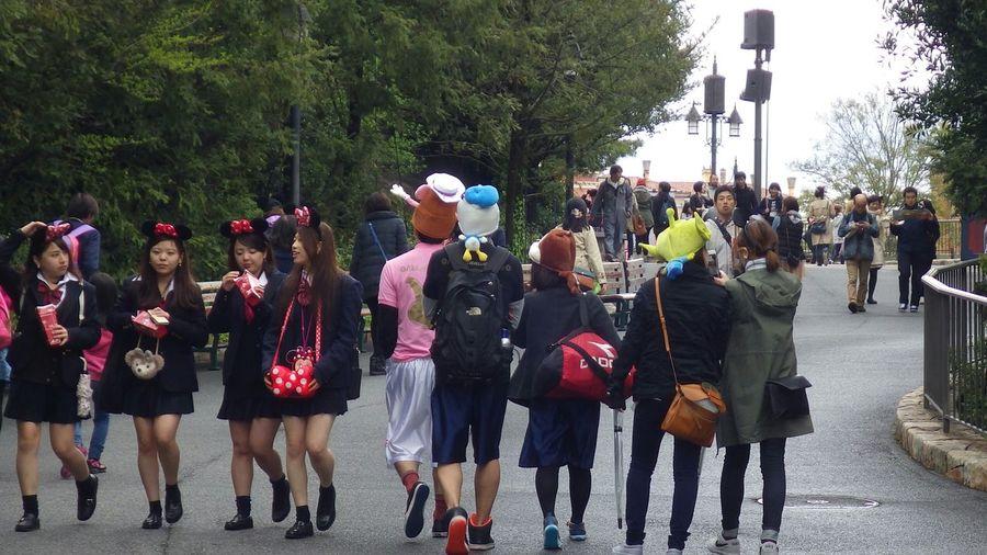 ネズミーシーでは被るけど今はホコリがかぶってる?RePicture Travel 東京ディズニーシー TDS Tokyo Disney Sea People People Watching Traveling お疲れさま😃