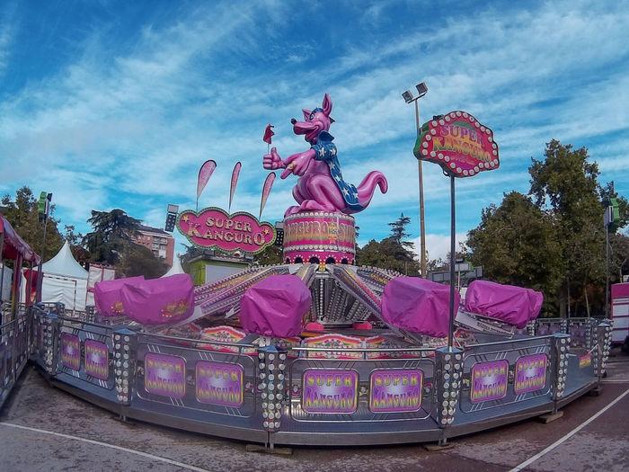 Pink fairground