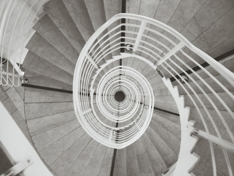 Staircase Bw_collection Hypnotize Me Architecture