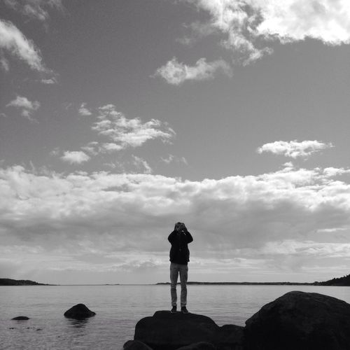 Close to the coastline MADE IN SWEDEN Blackandwhite Bw_nature Bw_collection