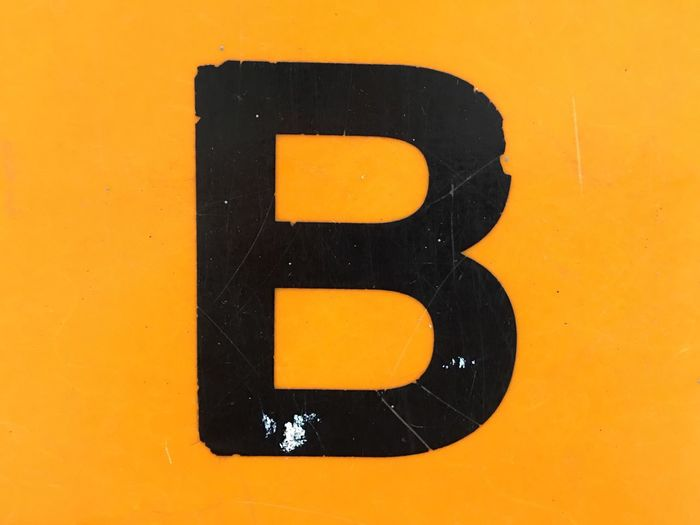 ABC Yellow Close-up Number Communication Black Color No People Sign Full Frame Information Text Orange Color Colored Background Letter