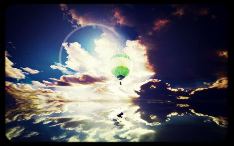 有天飞向这样的天空