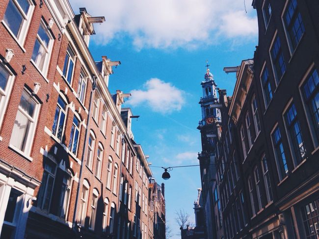 All this beauty. Taking Photos Architecture Light And Shadow Streetphotography Street Photography Light Urban Geometry Urban Landscape Architecture_collection Shadows & Lights Shadow Shadow Play Church Historical Building Clouds And Sky Blue Sky Blue Your Amsterdam This Is Your Amsterdam