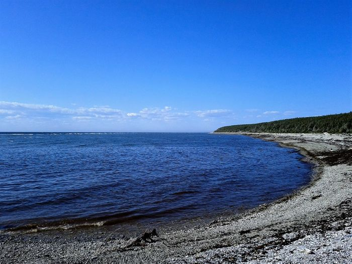 Sea Beach Horizon Over Water Scenics Blue Nature Outdoors Beauty In Nature Coastline Water Travel Destinations Sky No People Day Wave Landscape Anticosti Islands