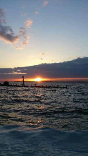 ein stürmischer Abend Steinhude-am-meer.de - Dein Meer-Foto